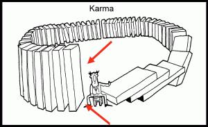 Karma - dominoes