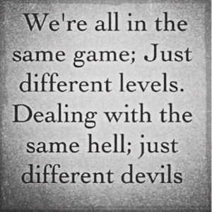 Same hell, different devils