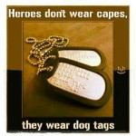 Rendezvous with Destiny ~ Veterans Day dog tags