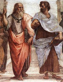 Aristotélēs (384 aC - 322 aC) Fue un filósofo griego y erudito. Estudiante de Platón.