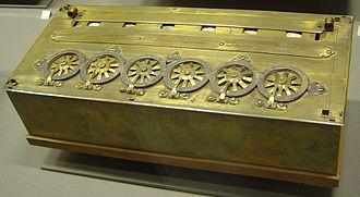Blaise Pascal inventó la calculadora mecánica en 1642.