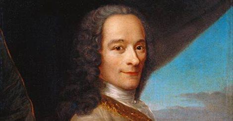 Voltaire según una hipótesis deriva del apelativo 'Petit Volontaire' (el pequeño voluntario).