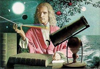 Cómo Newton imaginó las leyes que rigen estos movimientos, si no había instrumentos de medición?